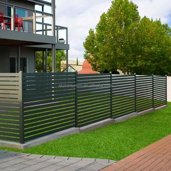 Aluminium Privacy Screens / Aluminum Slat Fencing/privacy Screen ...