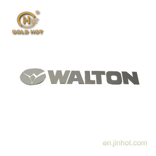 Merek dagang pabrik diri mematuhi kreatif logam sony logo sticker