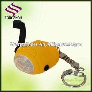 No batteries needed led dynamo torch