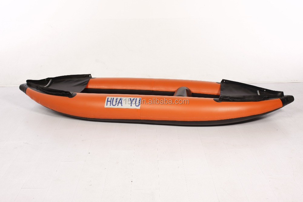 Wholesale Gas Bottom Canoe Inflatable Kayak Fishing Boat