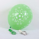 High quality 12inch 3.2g nature round shape latex balloons for Christmas party decoration