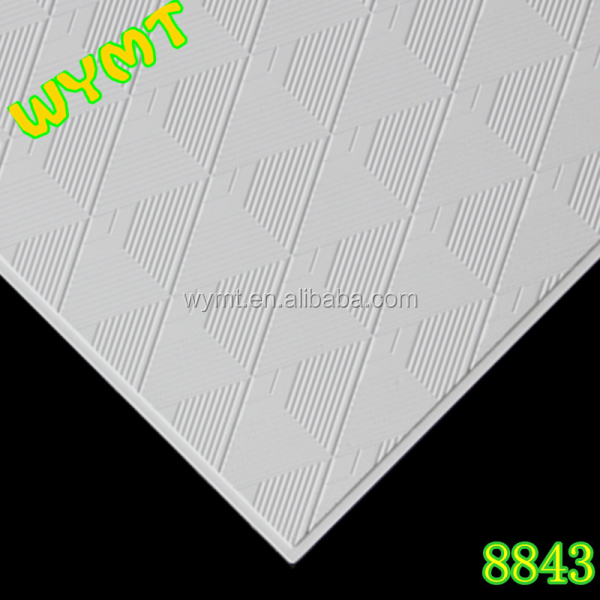 acoustic suspension gypsum board ceiling tiles 8843