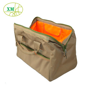 Cheap 600D Polyester folding heavy tool bag Open Top