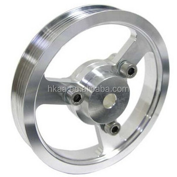 Custom stainless steel taper lock timing belt pulley for for V belt pulleys for electric motors