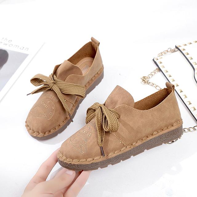 b5284d912b Sapatos femininos baratos Mulheres lace up sapatos casuais Calçado para  mulheres