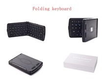 Mini Wireless Bluetooth Portable Folding Bluetooth Keyboard For Iphone/ipad
