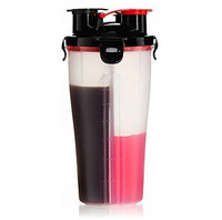 Gym Bottle Shaker double fitness mixer protein shaker bottle bpa
