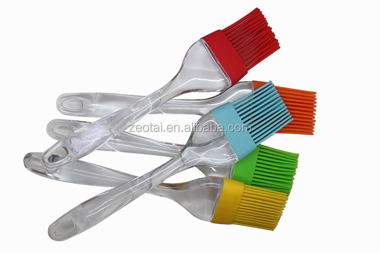 FDA LFGB standard rubber Grill BBQ Brush/silicone brush kitchen tools