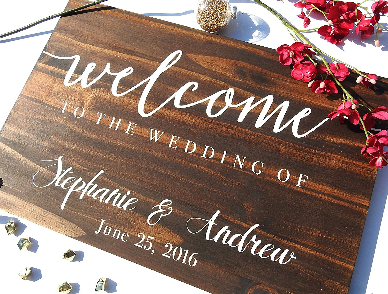 Welcome Wedding sign Welcome sign wedding sign, wooden sign Welcome wedding, Wooden Welcome Sign, wood wedding sign welcome sign. Design #130