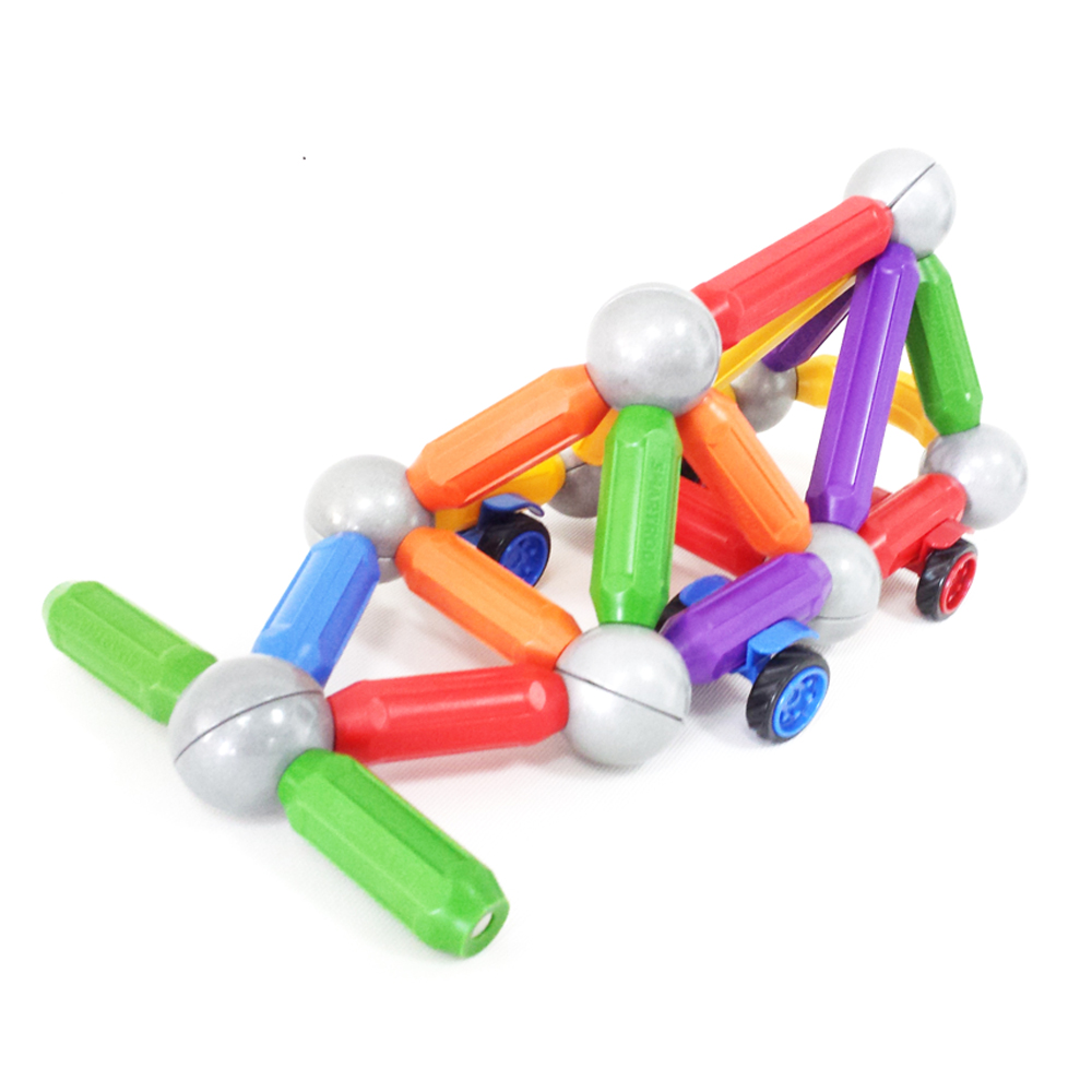 BMAG CE certification wholesale novel 25pcs magnetic ball rod toys for children