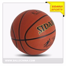 Custom Logo PVC Laminated Basketball Ball Sale
