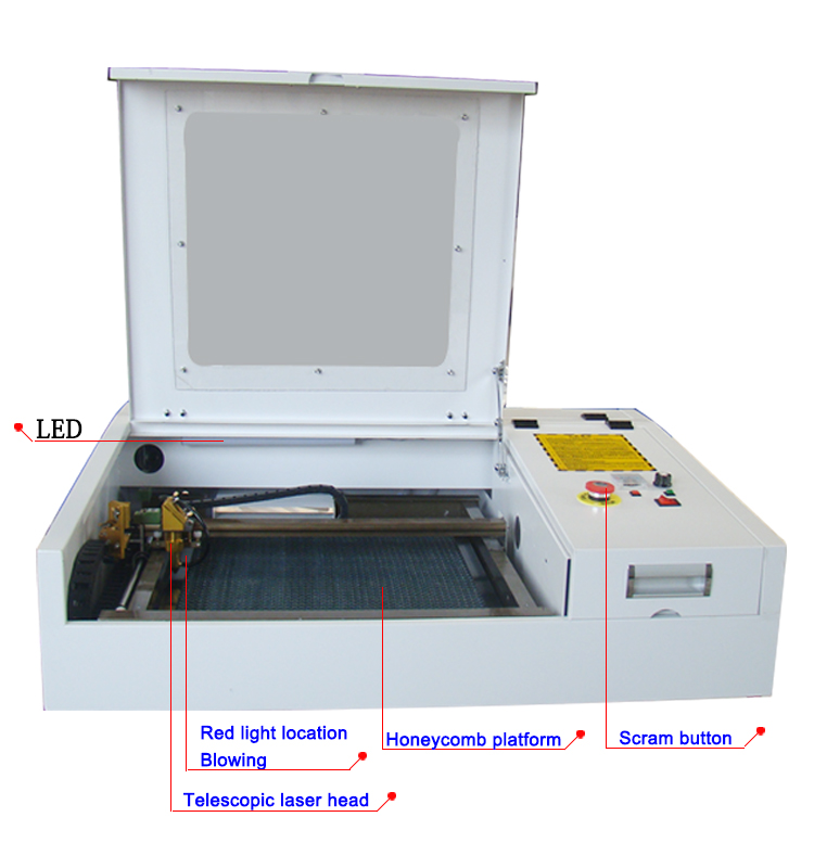 HTB1zn1ychTI8KJjSspiq6zM4FXaE - 4040 laser engraving and cutting machine with 50w CO2 laser tube and gold laser head deliver by DHL or TNT or fedex to your door