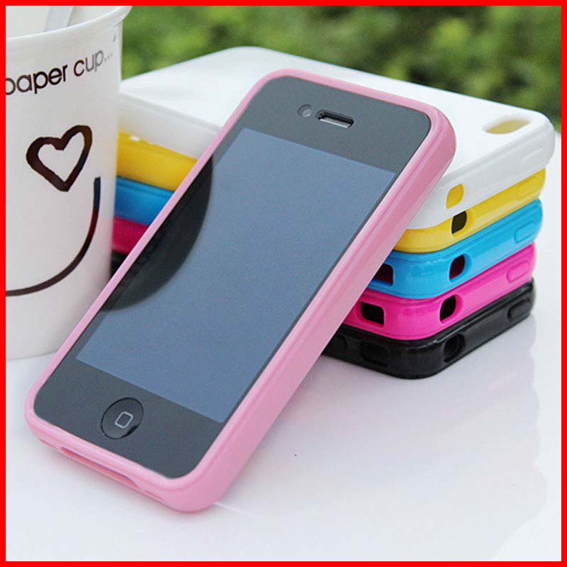 custom design flexible silicone protective cell phone shell mobile phone cover