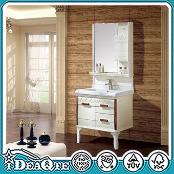 Großhandel Möbel Holz PVC Waschen Badezimmer Waschbeckenunterschrank  Waschbecken Dusche