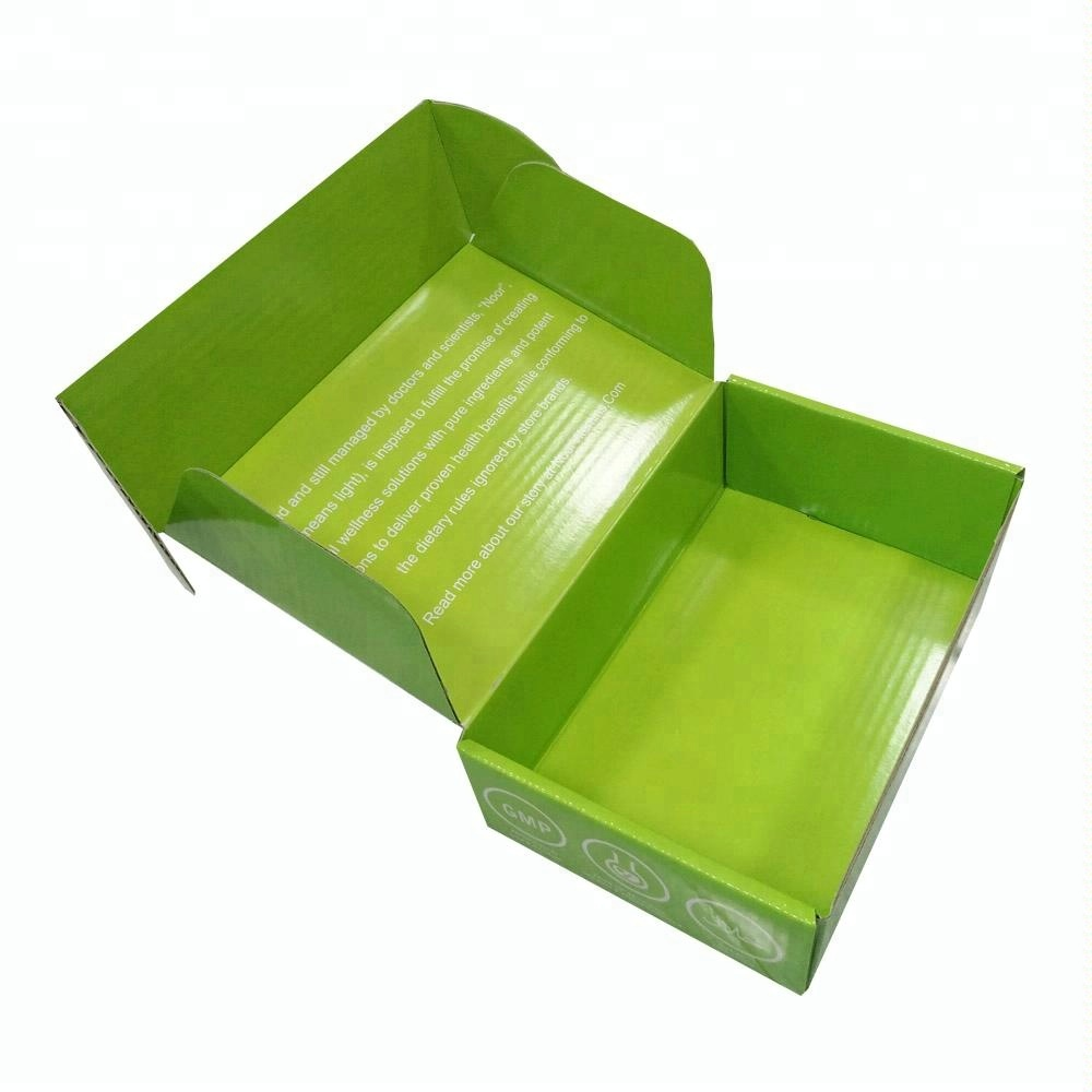 Custom strong corrugated carton gift box for <strong>packing</strong> with free design