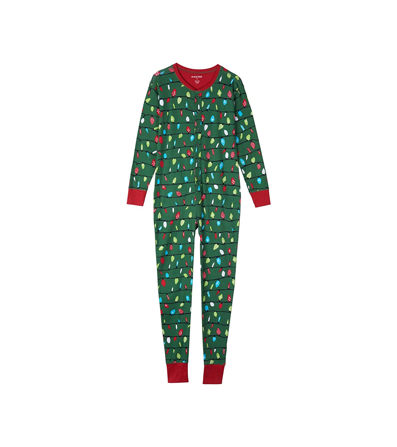 Little Blue House by Hatley Women's Moose Family Union Suits