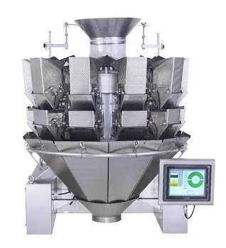 automatic 2.5L double door multihead weigher manufacturer JY-10HDDT