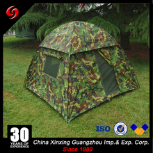 Two person single layer military camouflage dome tent, 210D Oxford cloth waterproof military tent/camp tent