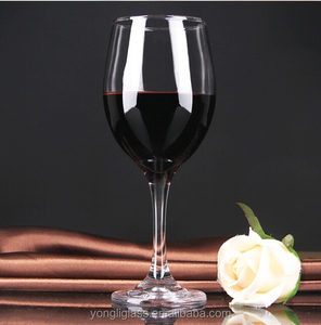 Good quality red wine glasses, hand painted wine glass, red wine glass made in China