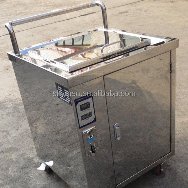 CE golf club ultrasonic cleaner with token operated and counter JP-160T