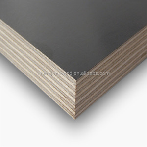 cheap 12mm black concrete laminated marine plywood construction materials