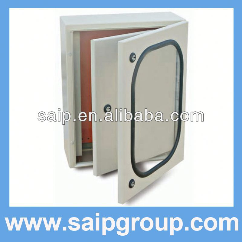 wall mounting enclosure outdoor electrical junction box plastic with inner door IP65