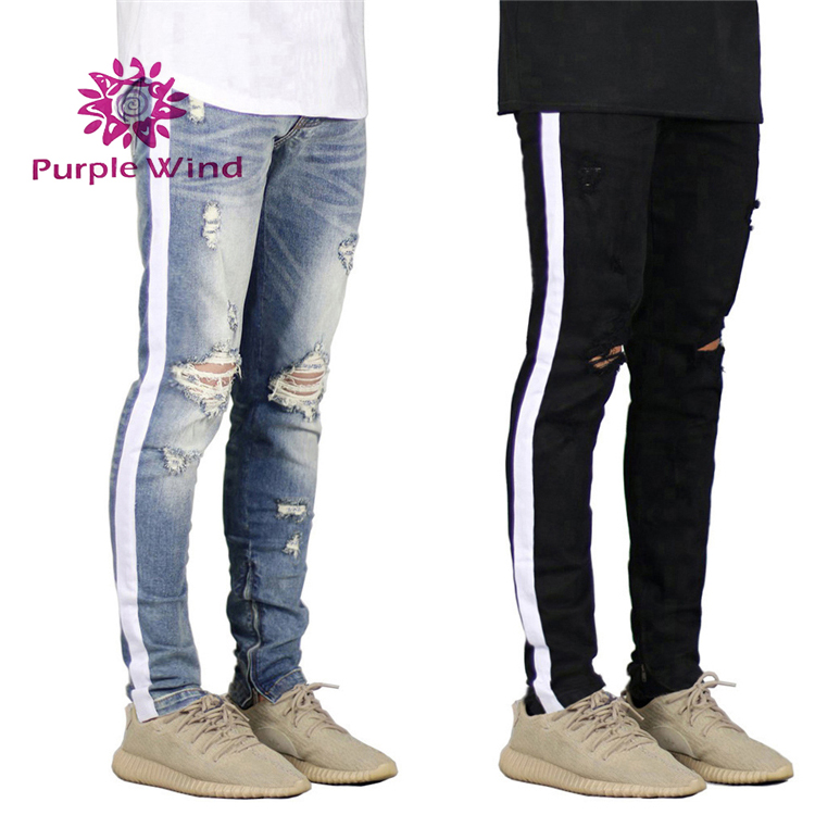 Honest 2018 New Fashion Hot Popular Mens Casual Pants Slim Fit Straight Leg Jeans Solid Business Pencil Trousers Yet Not Vulgar Skinny Pants Pants
