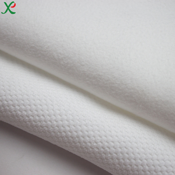 Polyester/polyamide conjugated microfiber interlock fabric cotton shaped corduroy fabric for towel and bathrobe