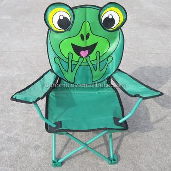Stereo Cartoon Design Kids Patio Chairs, Beach Folding Chair, Kids Camping  Chair
