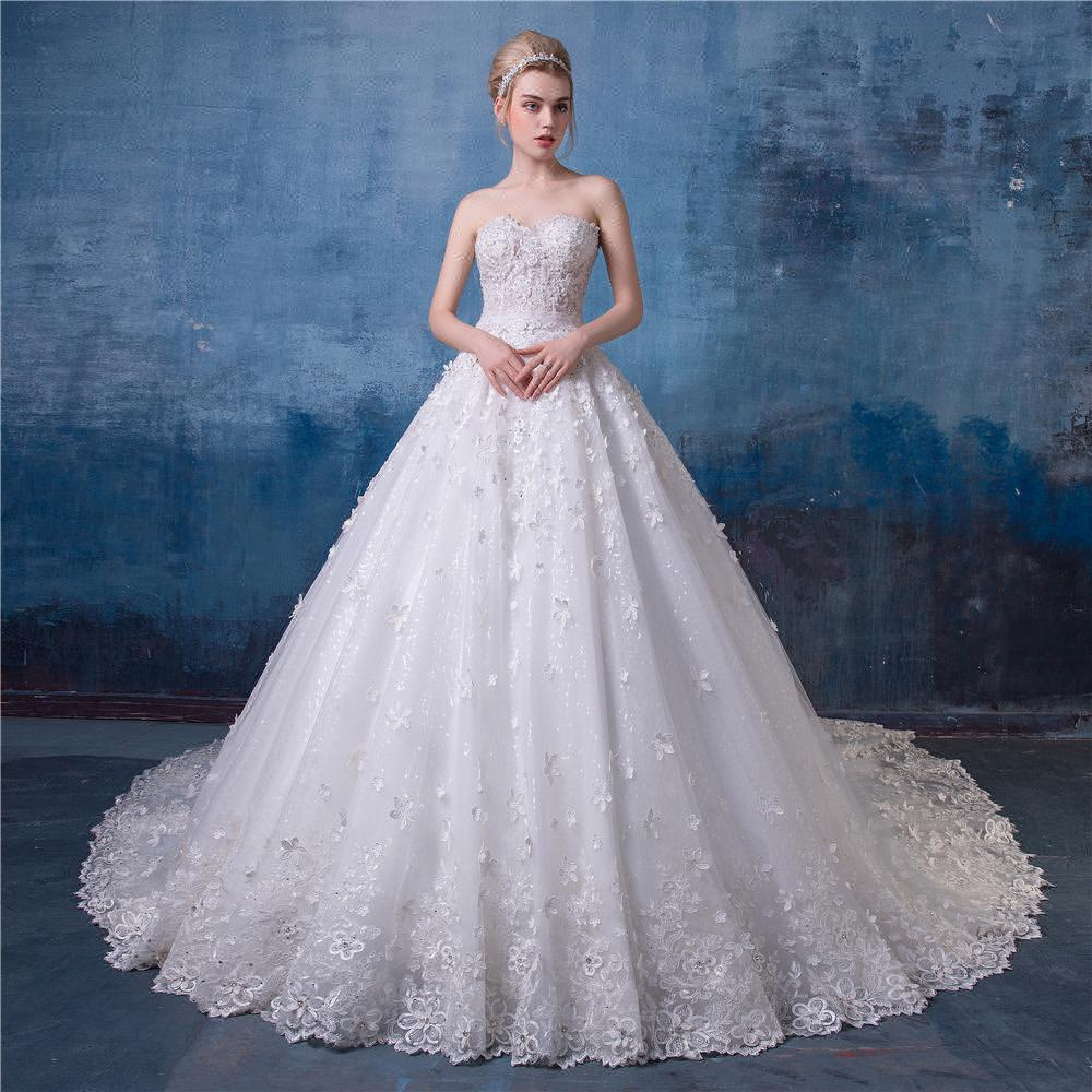 Luxury Chinese Bridal Gown Festooning - All Wedding Dresses ...