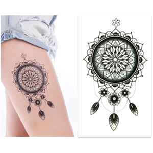 High Quality Waterproof Body Art Temporary Tattoo Paper for Leg or Arm