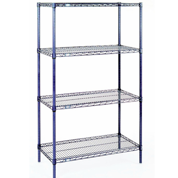 industrial metal shelving rack heavy duty shelving for. Black Bedroom Furniture Sets. Home Design Ideas
