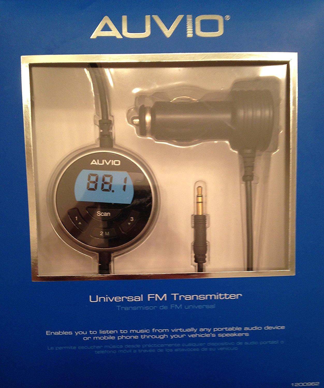 Auvio Universal Full Band FM Transmitter
