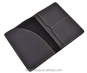Leather Passport Cover Holder for Men and Women Leather Passport Case