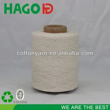 combed cotton slub yarn for knitting working glove