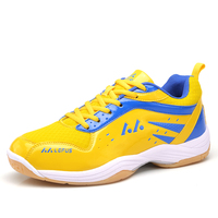 Lower cost Badminton Shoes Adult Non Slip Indoor Court Training Racquetball Sneakers Comfy Tennis Shoes