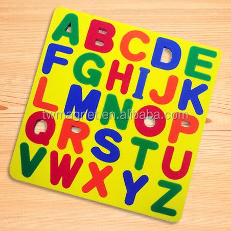 Magnetic eva foam alphabet puzzle for kids education for Buy magnetic alphabet letters