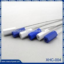 XHC-004 Mechanical security cable seals plastic zip lock sealed bag
