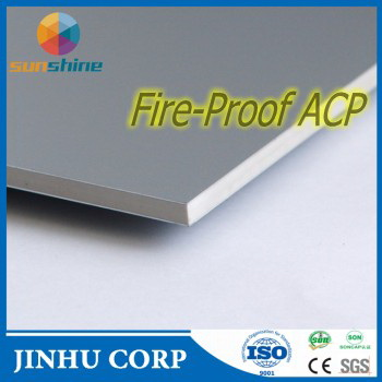 A2/B1 GRADE FIRE PROOF ACM/ACP ALUMINUM COMPOSITE PANEL