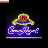wholesale china factory price custom crown royal neon light sign