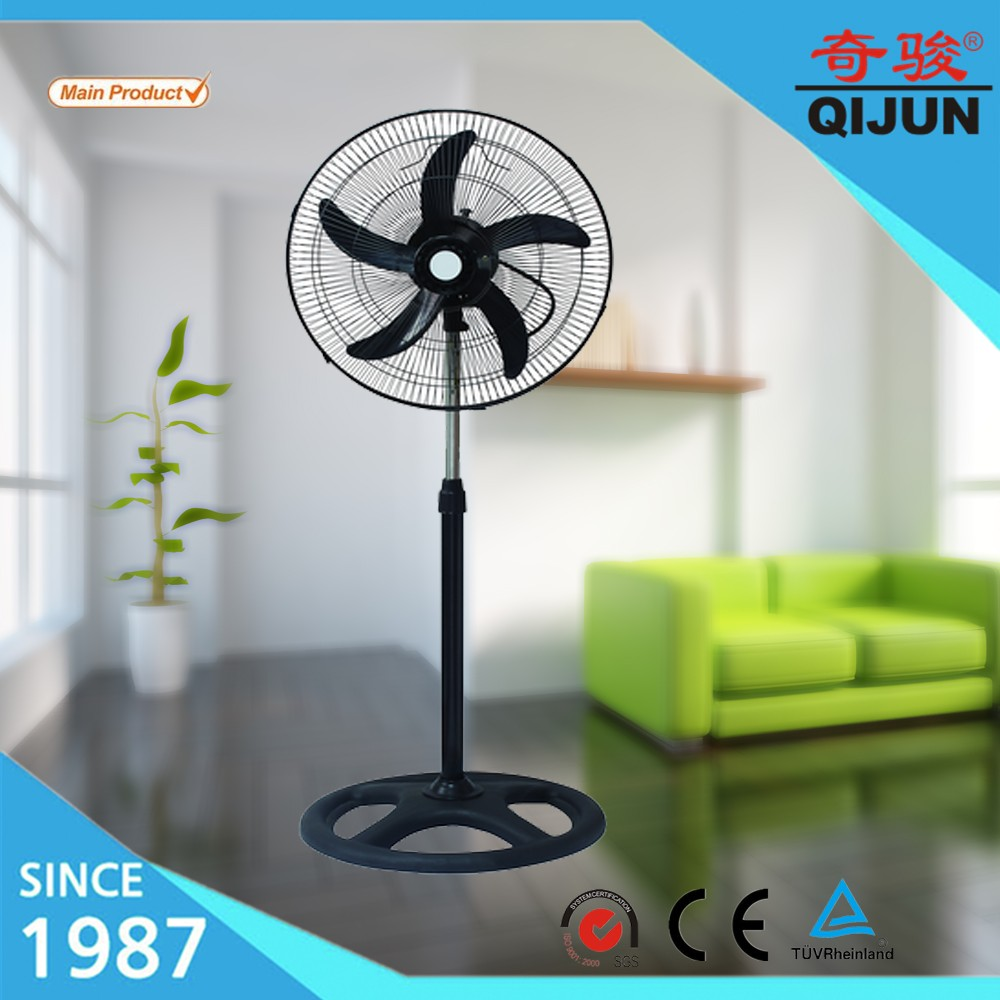 Summer hot sales AC adjustable height air circulation portable electric stand  fans with oscillation function for South America