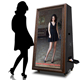 DIY Mirror Photobooth Portable Selfie Digital Wedding Photo booth machine with Shell