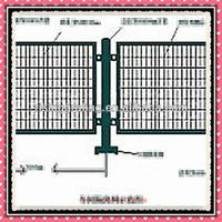 PAINTING OR SELF COLOUR steel grating fence