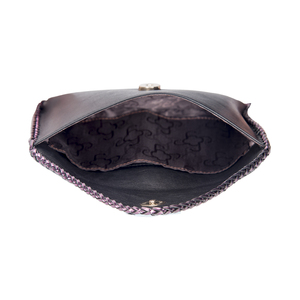 Mode Of Personal Soft Lambskin / Cow Cowhide Shenzhen Clutch Purses Wholesale