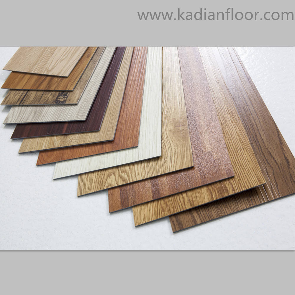 Modern Luxurious Vinyl Plank Plastic Wood Flooring Pvc