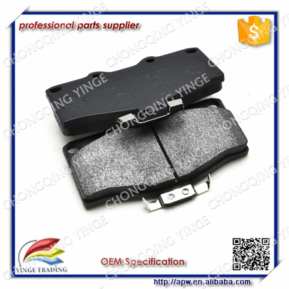 China Cheap Spare Parts Toyota Land Cruiser Brake Pad Set
