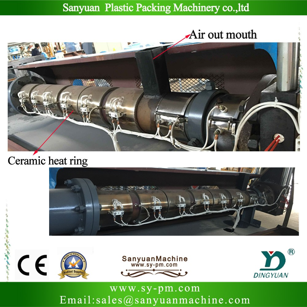 Hdpe Ldpe Recycling Machine/china Leading Best Sale Full-automatic ...