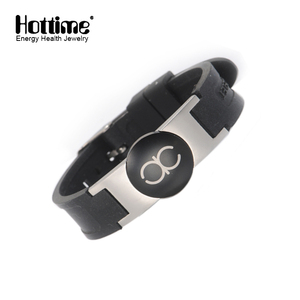 Fashion Golf Sport Rubber Band Magnetic Bracelet