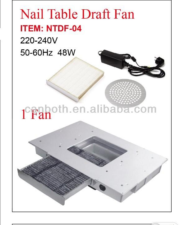 Nail Table Draft Fan Manicure Table Fan Dust Collector