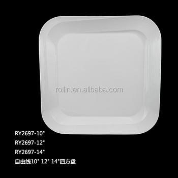 2016 Hotel&restaurant White Porcelain Plate,Microwave Safe Crockery  Plates,Personalized Design Restaurant Crockery - Buy Durable White  Porcelain